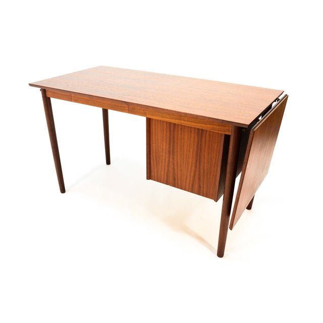 Arne Vodder for H. Sigh & Sons Drop-Leaf Desk - Image 6 of 8