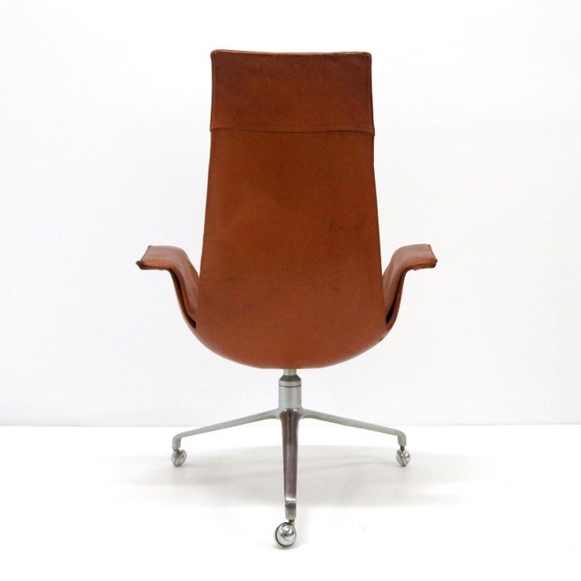 1960s Vintage Preben Fabricius Jorgen Kastholm Bird Chair For Sale - Image 11 of 12