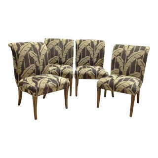 Early 21st Century Marge Carson Melrose Side Chairs- Set of 4 For Sale
