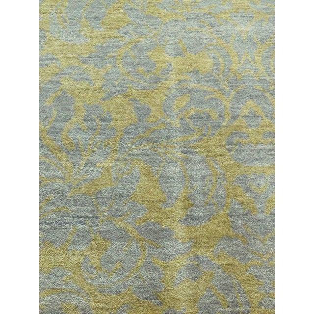 """Hand-Knotted Contemporary Rug - 6'x 9'5"""" - Image 2 of 10"""