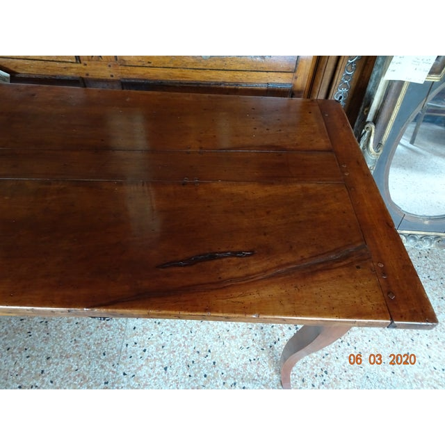 French 19th Century French Farm Table For Sale - Image 3 of 13