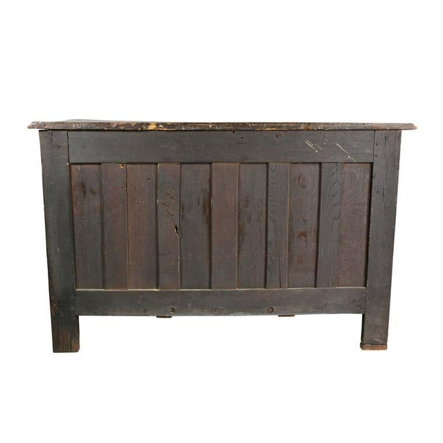 Brown Regence Provincial Walnut Commode For Sale - Image 8 of 9