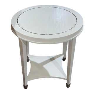 Bernhardt Criteria Round Side Table For Sale
