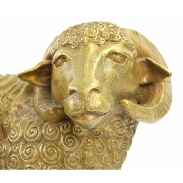 Dan Ferguson the sculptor half of the art couple DaNisha produced a limited edition of 25 of these wonderful Rams in...