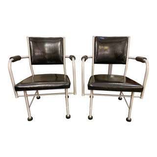 Mid-20th Century Warren McArthur Arm Chairs No.1025 For Sale