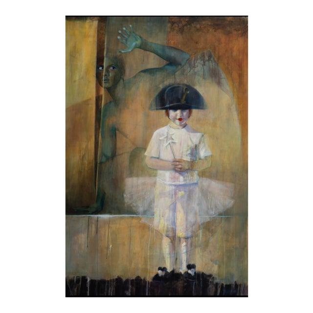 """Dear Prudence"" Acrylic Painting on Canvas For Sale"