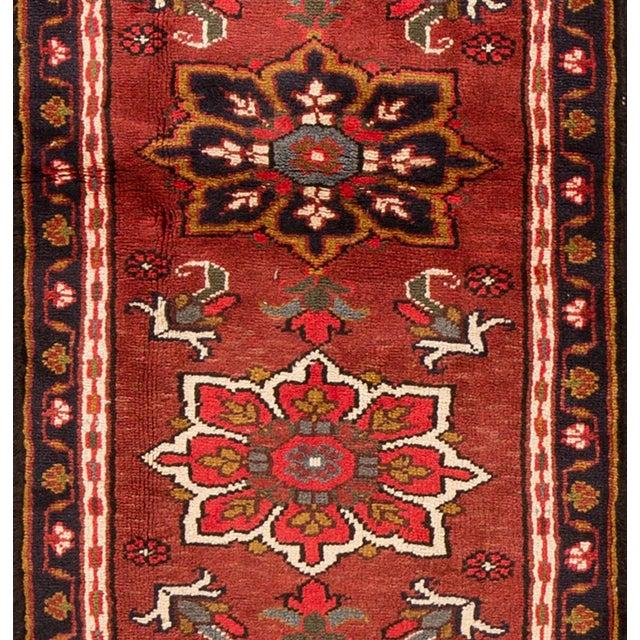 "Apadana - Vintage Persian Heriz Rug, 2'2"" x 6'6"" For Sale - Image 4 of 5"