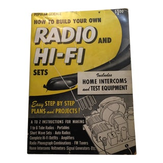 "Vintage ""How to Build Your Own Radio and Hi-Fi Sets"" 1954 Book For Sale"