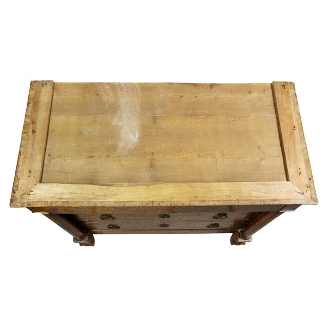 Charles X Burl Elm Commode For Sale In Boston - Image 6 of 13