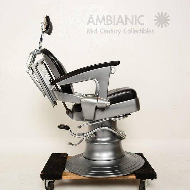 Ritter Art Deco Machine Age Barber Dentist Dental Chair - Image 1 of 9 - World-Class Ritter Art Deco Machine Age Barber Dentist Dental Chair