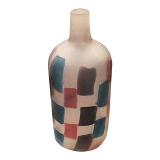 "Fulvio Bianconi ""Pezzato"" Vase for Cenedese, Italy, 1950s For Sale"