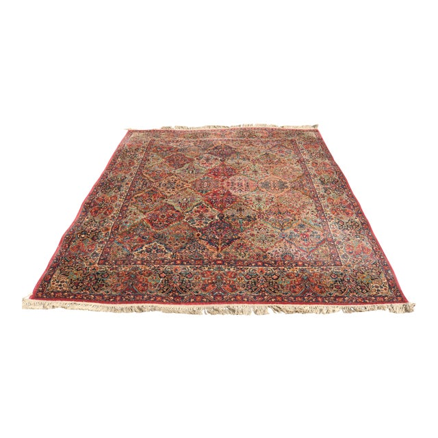 Karastan Kirman Multicolor Rug - 8′7″ × 10′8″ For Sale