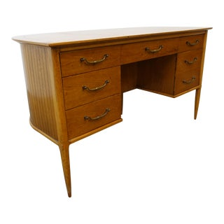 1960s Mid-Century Modern Tomlinson Sophisticate Writing Desk For Sale
