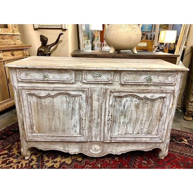 Early 19th Century French Washed Buffet For Sale - Image 9 of 9