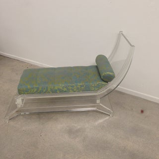Jonathan Franc Lucite Chaise Preview