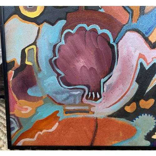 Vintage Painting - Bring Me an Artichoke, Signed For Sale In New York - Image 6 of 7