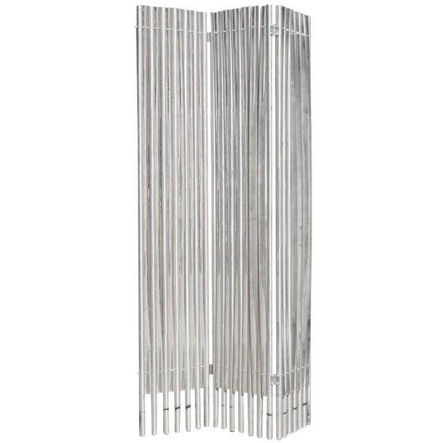Lucite and Aluminum Wall Divider by Charles Hollis Jones - Image 1 of 6