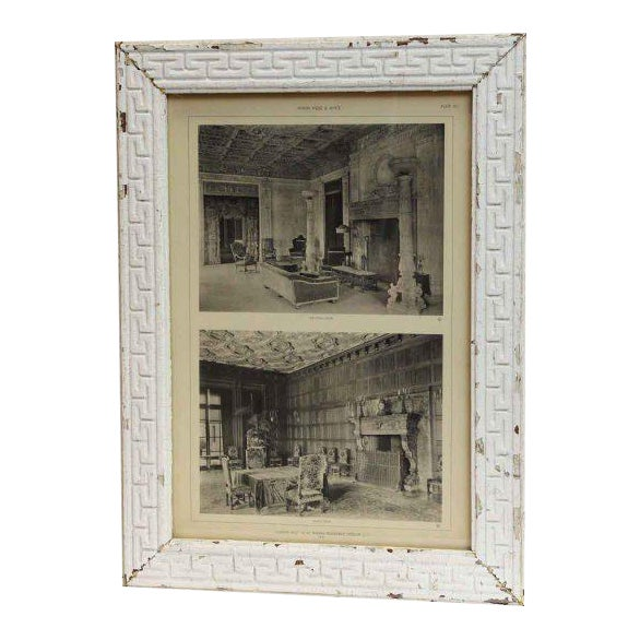 Harbor Hill Framed Photograph For Sale