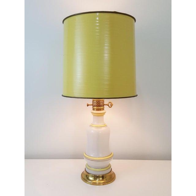 Warren Kessler Opaline Glass Lamps - Set of 3 For Sale - Image 10 of 10