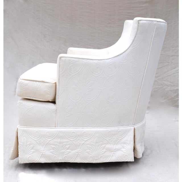 Swivel Rocking Club Chairs - A Pair - Image 8 of 11