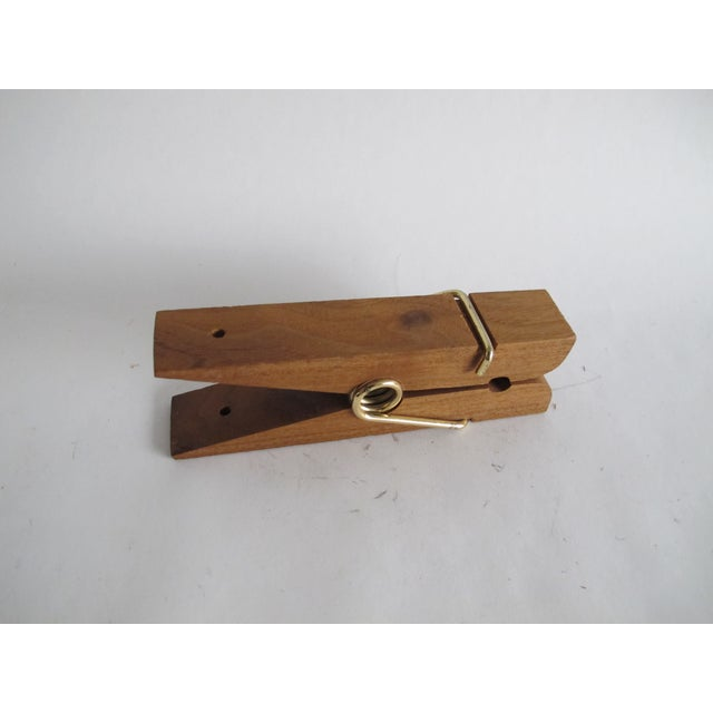 Oversized Wooden Clothespin - Image 3 of 5