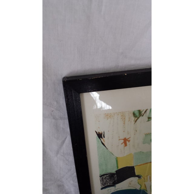 Framed Henri Toulouuse Lautrec French Lithograph For Sale - Image 5 of 6