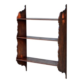English Mahogany Plate Rack