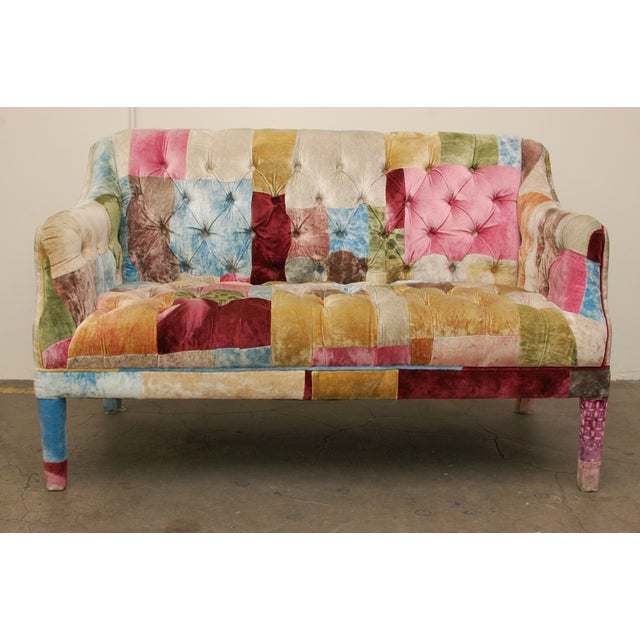 Multicolor Timothy Oulton Loveseat - Image 2 of 7