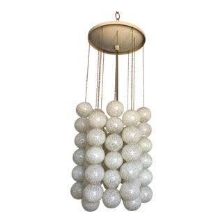 Modern Czech Lucite Pendant Light
