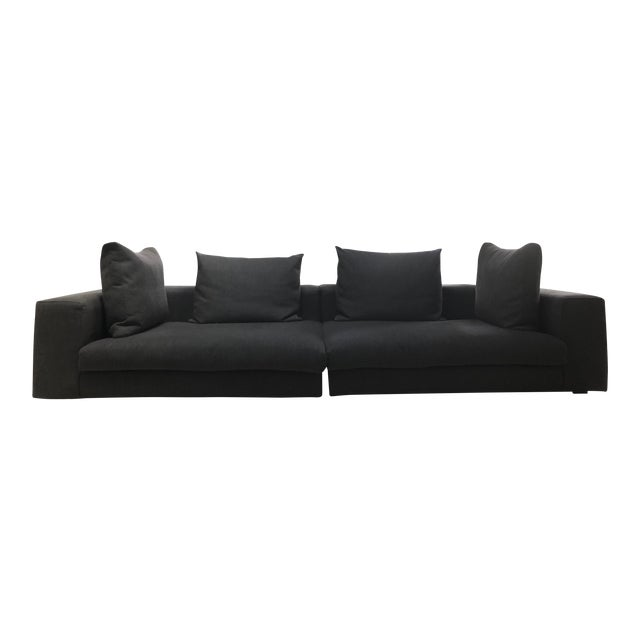 Mid-Century Style Sectional Couch For Sale