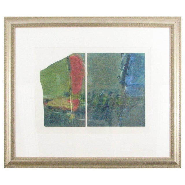 "Green Anne Raymond ""Mountain Lake I"" Print For Sale - Image 8 of 9"