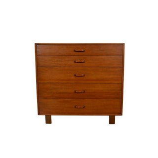 George Nelson Herman Miller Mid Century Modern Walnut Tall Dresser For Sale