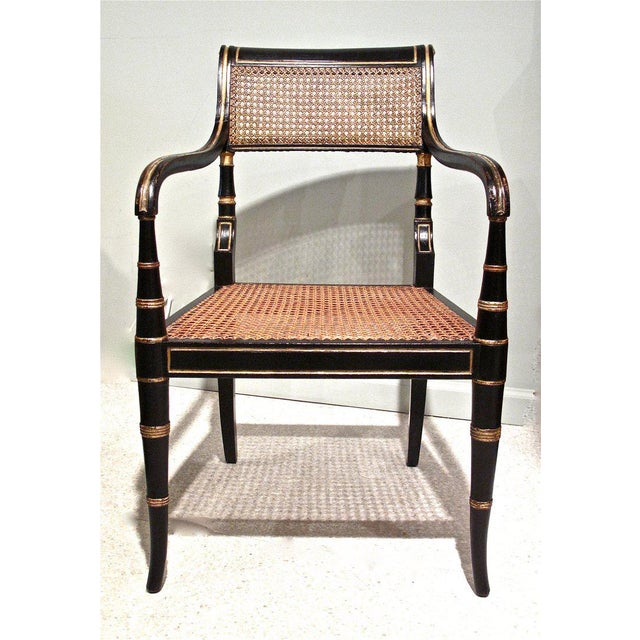 Early 19th Century English Regency Period Armchair - Image 3 of 6
