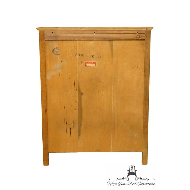"Huntley Furniture Italian Provincial 38"" Chest of Drawers For Sale - Image 9 of 12"
