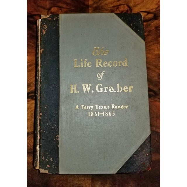 The Life Record of Hw Graber Texas Ranger Dedicated First Edition For Sale - Image 10 of 10