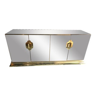 Vintage Hollywood Regency Style Credenza by Ello