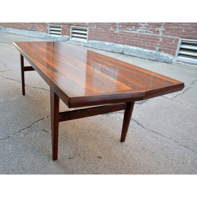 Mid-Century Danish Rosewood Coffee Table - Image 8 of 8
