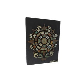 Mid Century Mexican Modern Wall Plaque For Sale