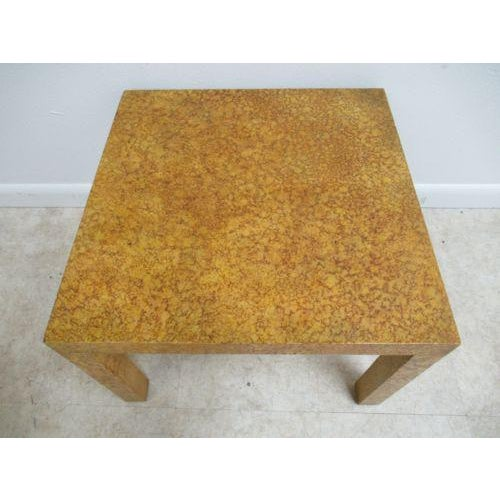 Henredon Henredon Decorator Faux Painted Coffee Table For Sale - Image 4 of 10