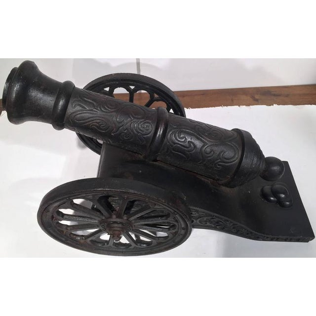18th Century French Iron Canons - a Pair For Sale - Image 4 of 8