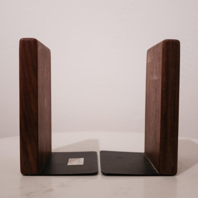 Jane and Gordon Martz Walnut Ceramic Bookends for Marshall Studios For Sale In San Diego - Image 6 of 8