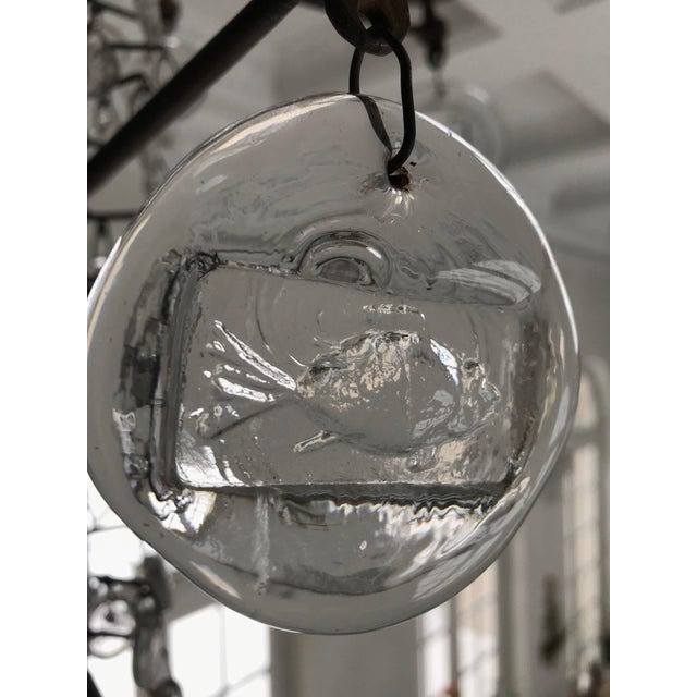 Eric Hoglund Chandelier For Sale - Image 4 of 8