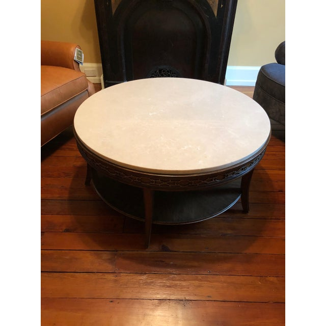 Drexel Heritage Drexel Heritage Olio Collection Coffee Table For Sale - Image 4 of 8