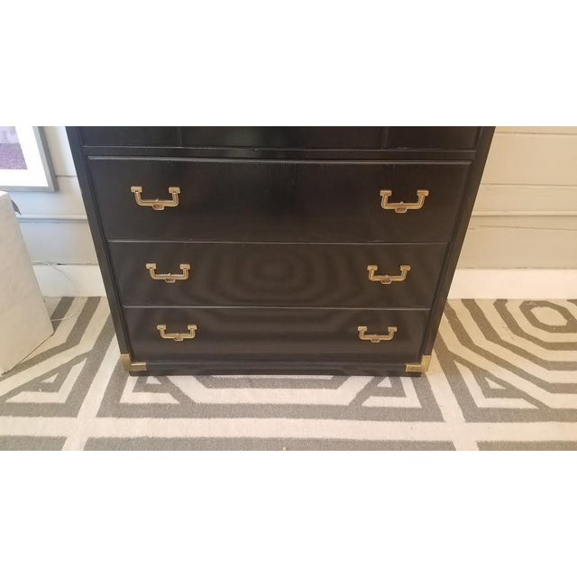 Huntley by Thomasville 5-Drawer Campaign Dresser - Image 5 of 9