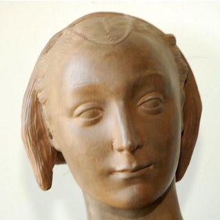 Late 20th Century Renaissance Style Terra Cotta Bust of a Woman - No. 1 Preview
