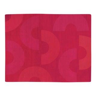 C Me Crimson, 12 x 16 Rug For Sale