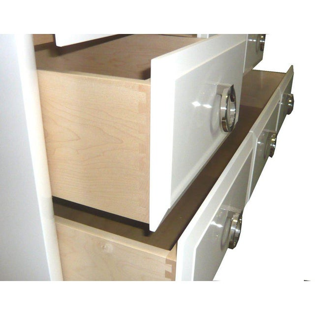 Maple Customizable Artem Lacquered Dresser For Sale - Image 7 of 8