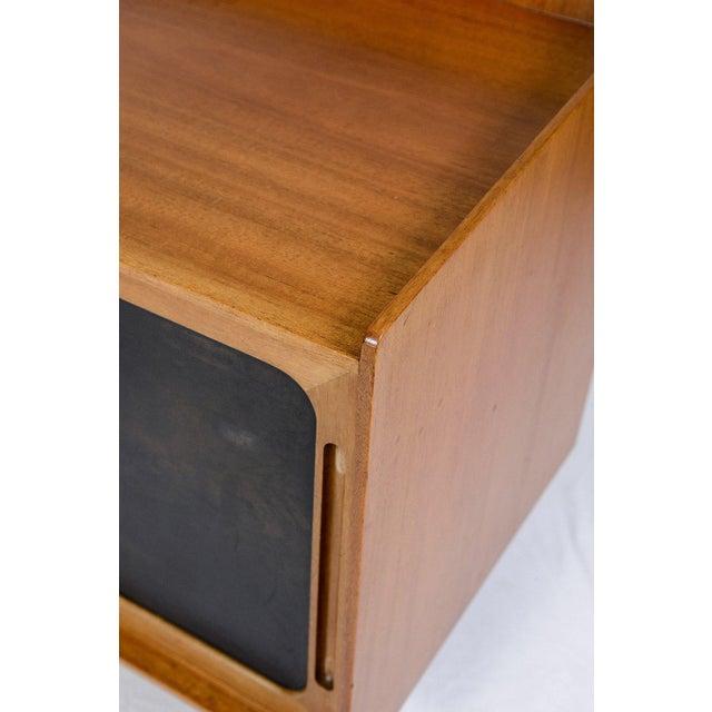 Wood Danish Teak Wall Hanging Cabinet For Sale - Image 7 of 10