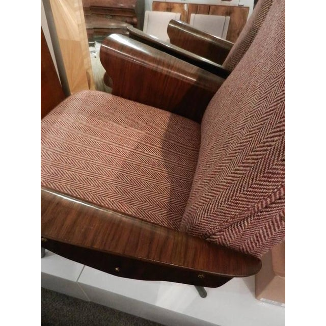 Brick Red Mid-Century Osvaldo Borsani Model D72 Club Chair For Sale - Image 8 of 10