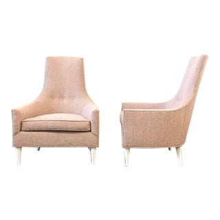 Adrian Pearsal Style Chairs- a Pair For Sale